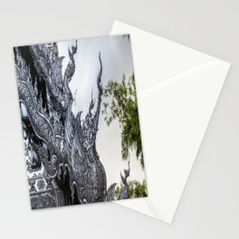 Wat Srisuphan-Silver Temple, Chiang Mai, Thailand Stationery Cards
