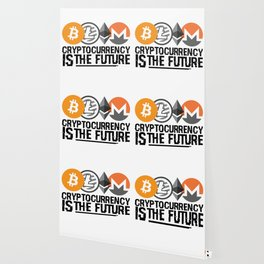 Cryptocurrency Is The Future Quote Wallpaper