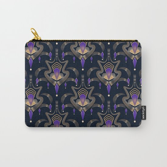 "Art Deco 33. ""Sophia"" Carry-All Pouch"