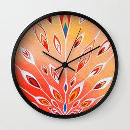 Combustion Wall Clock
