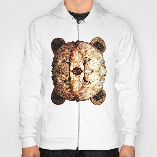 Two-Headed Bear Hoody