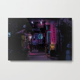 Tokyo Nights / Midnight Diner / Liam Wong Metal Print