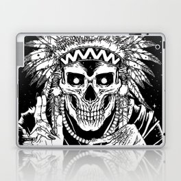 INVASION - Black and white variant Laptop & iPad Skin