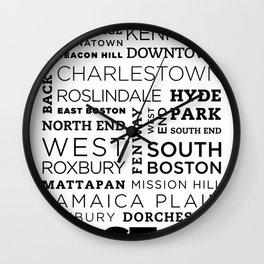 City of Neighborhoods - II Wall Clock