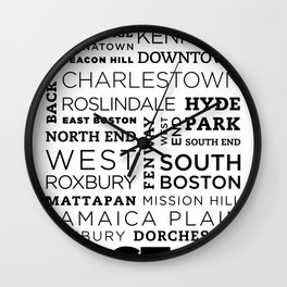 City of Neighborhoods - II Wall Clock