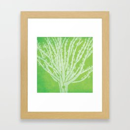 Viking Oak print Framed Art Print