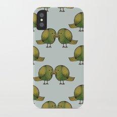 Love Doves Slim Case iPhone X