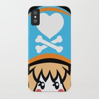 pagan iPhone & iPod Cases featuring Captain Pagan by Pagan Holladay