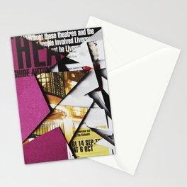 Cat Flips Through Magazine Stationery Cards
