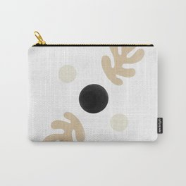 Linen Leaves Balance Carry-All Pouch