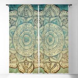 Faded Bohemian Mandala Blackout Curtain