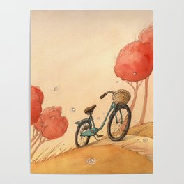 Lonely Bike Poster