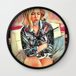 Pout Wall Clock
