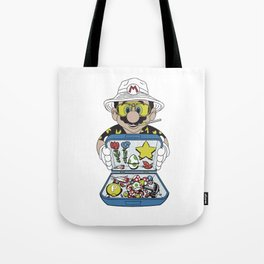 Mario - Fear And Loathing In Las Vegas Tote Bag