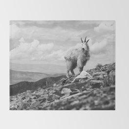 KING OF THE MOUNTAIN Throw Blanket