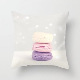 La tour de yum Throw Pillow