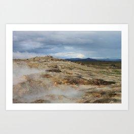 The Mud Bogs Art Print