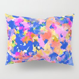 Floral splash Pillow Sham