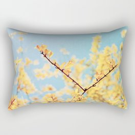 Golden Fall Rectangular Pillow