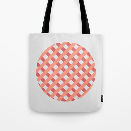 striped circle I Tote Bag