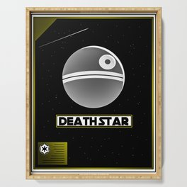 Death Star Poster Serving Tray