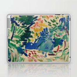 Landscape at Collioure - Henri Matisse - Exhibition Poster Laptop & iPad Skin