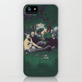 Le Déjeuner sur l'herbe (universal monster) iPhone Case