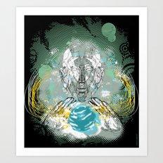 spatial golem Art Print
