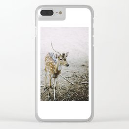 oh deer! Clear iPhone Case