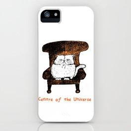 Centre of the Universe (Orange)  iPhone Case
