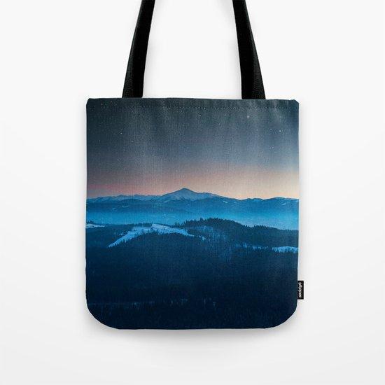 Magic mountains #society6#buyart Tote Bag
