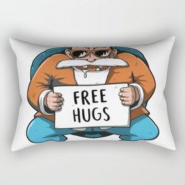 Master Roshi Free Hug Rectangular Pillow