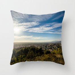 Vasta inmensidad Throw Pillow
