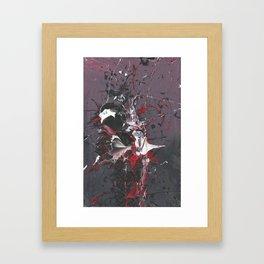 Death of a penguin  Framed Art Print