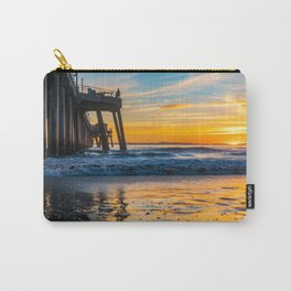 Wet Sand Island Sunset Carry-All Pouch