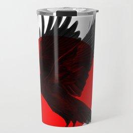 Red Raven Travel Mug