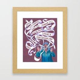 Paula Deen Framed Art Print
