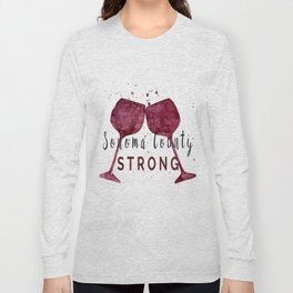 Sonoma County Strong Long Sleeve T-shirt