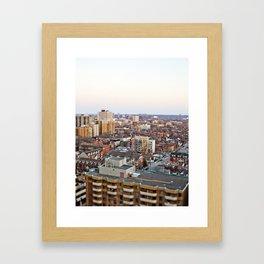 Toy City Framed Art Print