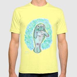 Manatee in Watercolor T-shirt