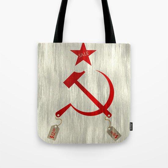Communism vs. Capitalism Tote Bag