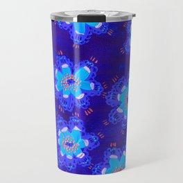 December Lace Rose Travel Mug