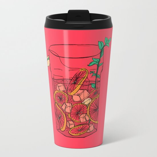 SunTea Metal Travel Mug