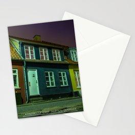 Latinerkvarteret, Aarhus, Denmark Stationery Cards