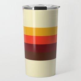 retro color palette Travel Mug
