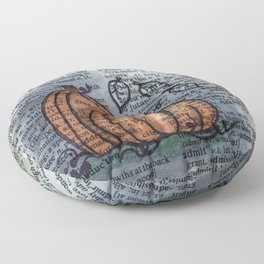 Pumpkin Pals Floor Pillow