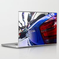 bmw Laptop & iPad Skins featuring BMW M135i back by Mauricio Santana