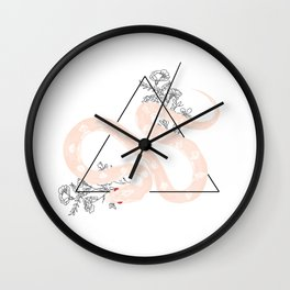 Wildflower Venom Wall Clock