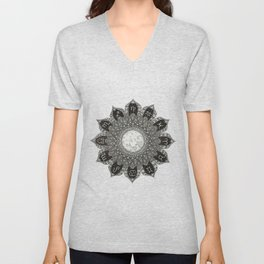 Astrology Signs Mandala Unisex V-Neck