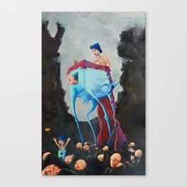 Koza Canvas Print